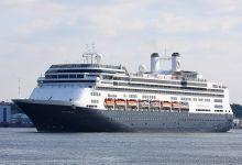 "Cruise Ship ""Rotterdam"" leaving Port of Kiel at 19.07.2013."