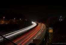 ... light trails (4) ...