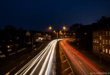 ... evening traffic ...
