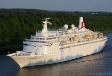 "Cruise Ship ""Black Watch"" captured on Kiel-Canal at 30.05.2013."