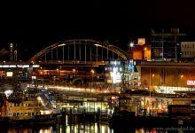 Gablenzbrücke (Kiel) @ night