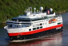 "Cruise Ship ""Fram"" captured on Kiel-Canal at 12.05.2013."
