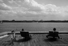 View onto Kiel fjord