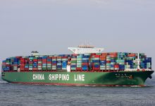 CSCL Saturn (Container Ship, 366m x 52m, IMO:9467299) captured 16.08.2013