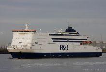 Pride of Hull (Ro/Ro Passenger Ferry, 214m x 32m, IMO:9208629) captured 17.08.2012.