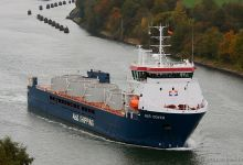 Abis Dover (General Cargo, 108m x 16m, IMO:9613630) captured 20.10.2013