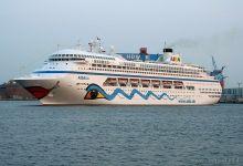 ex. AIDAblu @ Port of Kiel