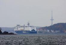 ... Arrival @ Port of Kiel ...