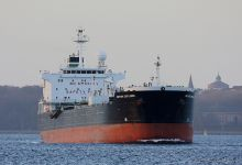 British Explorer (Chemical & Oil Product Tanker, 182m x 27m, IMO:9251561) captured 24.11.2013.