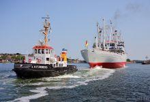 Cap San Diego @ Kiel-Canal