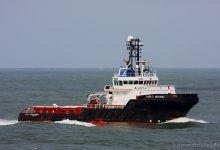 Carlo Magno (Offshore Tug Vessel, 55m x 16m, IMO:9341251) captured 30.09.2012