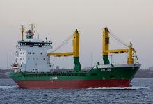 Cellus (General Cargo Ship, 100m x 17m, IMO:9173317) captured 24.11.2013
