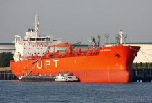 Conti Benguela (Chemical & Oil Product Tanker, 185m x 27m, IMO:9391373) captured 06.06.2013.