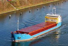Eva (General Cargo Ship, 90m x 14m, IMO:9583859) captured 23.11.2013