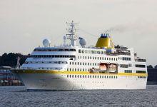 Hamburg outbound Port of Kiel at 27.08.2013.