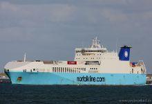 Humber Viking new: Eurocargo Sicilia (Ro/Ro Cargo, 193m x 28m, IMO:9457177) captured 29.09.2012.