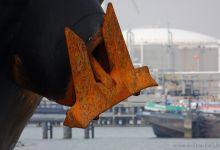 rusty anchor