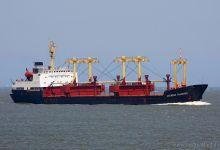 Kapitan Glazachev (General Cargo, 152m x 21m, IMO:7531967 beached Aliaga August 2013) captured 07.06.2013.