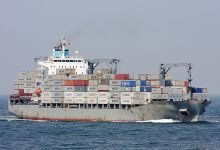 Maersk Norwich (Container Ship, 210m x 30m, IMO:9301926) captured 16.08.2013