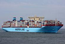 Impression Mærsk Mc-Kinney Møller - First European Port of Call - Rotterdam 16.08.2013 -