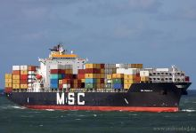 MSC Rossella (Container Ship, 243m x 32m, IMO:9065443) captured 29.09.2012.