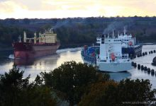 ... mystic light @ Kiel-Canal ...