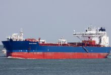 Navion Britannia (Crude Oil Tanker, 260m x 40m, IMO:9145188) captured 06.06.2013