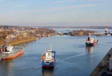 Kiel-Canal @ November 2013