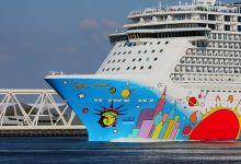 ... Leaving Port of Rotterdam ...