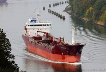 Oramalia (Chemical Oil Products Tanker, 103m x 16m, IMO:9392640) captured 06.10.2013