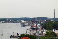 Port of Kiel - Amadea -