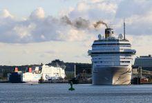... Port of Kiel ...