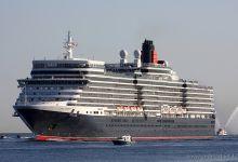 Queen Elizabeth inbound Port of Kiel 24.07.2012.