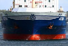 bound to locks of Kiel-Holtenau
