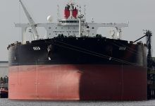 Seeb (Crude Oil Tanker, 333m x 60m, IMO:9500716) captured 17.08.2012.