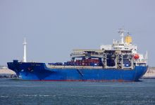Star Eagle (General Cargo Ship, 176m x 30m, IMO:8005109) captured 06.06.2013