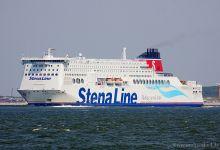Stena Hollandica (Ro/Ro Passenger, 240m x 32m, IMO:9419163) captured 06.06.2013.
