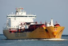 Stolt Capability (Chemical & Oil Product Tanker, 176m x 31m, IMO:9102124) captured 06.06.2013.
