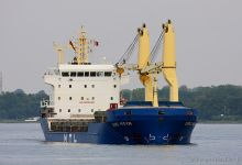 UBC Moin (General Cargo, 108m x 18m, IMO:9421154) captured 07.09.2013