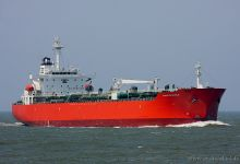 Valle Di Siviglia (Chemical & Oil Products Tanker, 176m x 31m, IMO:9220938) captured 06.06.2013