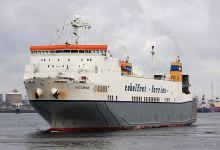 Victorine (Ro/Ro Cargo, 162m x 25m, IMO:9184029) captured 08.08.2010