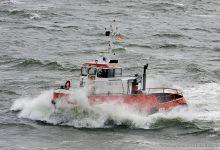 Taucher O. Wulf 6 (16,5m x 4,3m) captured Cuxhaven 31.08.2013.