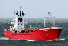 Elektron II (Ro/Ro Cargo, 78m x 14m, IMO:6930520) captured Cuxhaven 31.08.2013