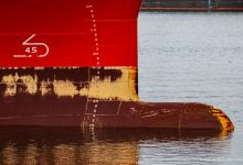 ... just another bulbous bow ...