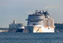 ... outbound Kiel ...